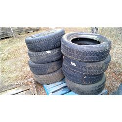 Pallet of Assorted Tires - 275/65R18