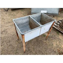 Double Sink on Stands