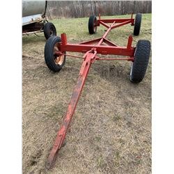 Rubber Tired Hay Wagon