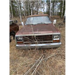 1983 Dodge D100 - Auto - Salvage