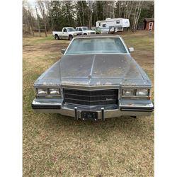1984 Cadillac - Coupedeville - 2 DR - SK Registration - 1G6AM4785E9021363