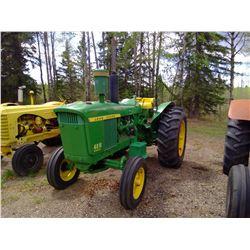 4010 John Deere - Diesel 18.4-34 Tires - Seri 22T3898 - Restored in 2010 (Shows) 5166, HRS
