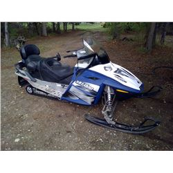 2007 Snowmobile - Skidoo GTX - 500 SS - Vin # 2BPSED7A2V00027 - Up Seat, Less than 800 Miles