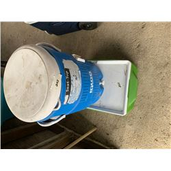 Cooler and 5 Gallon Igloo Cooler