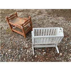 2 Baby Doll Beds