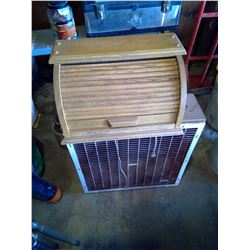 Bread Box and Electric Fan