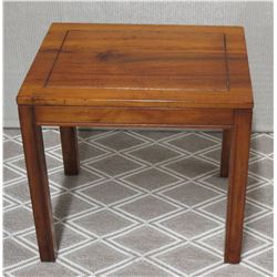 "Wooden Side Table 22"" x 18"" x 20""H"