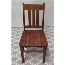 Koa Chair (Seat 17  x 17 , Back Height 37 )