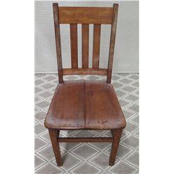 Koa Wood Chair 37 H Backrest