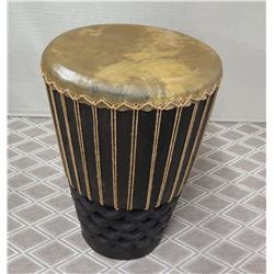 "Pahu Drum w/ Carved Base 21"" Dia, 35""H"