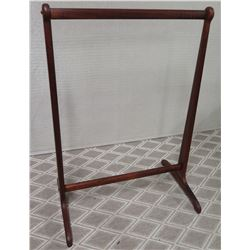 """Wooden Quilt Rack, Approx. 32"""" W, 46"""" H"""