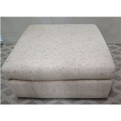 """Large Square Upholstered Ottoman 34"""""""