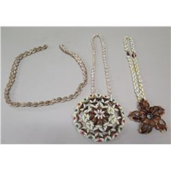 Qty 3 Shell Necklaces