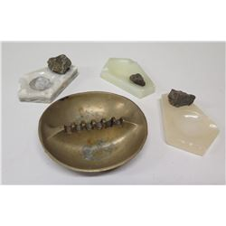 Misc. Ashtrays: Natural Stone, Rocks, etc