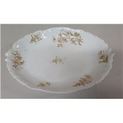 Limoges C & S London Oval Floral Serving Platter