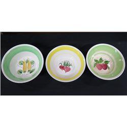 Qty 3 Misc. Bowls - Japan, Korea, etc