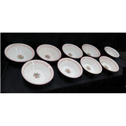 Qty 11 U.K. Saimin Bowls - Made in Japan