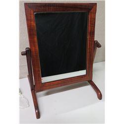 Koa Wood Framed Tilting Mirror, 13.5x20