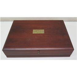 Wooden Flatware Storage Box - Pacific Silvercloth