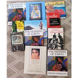Misc Books:  Goethe, Princess Kaiulani, Kalakaua, Waikiki Beachboy, The Gods Depart, Keepers of Eart