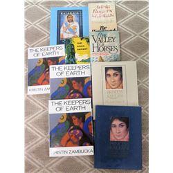 Misc Books:  Princess Kaiulani, The Gods Depart, Keepers of Earth (Zambucka), etc