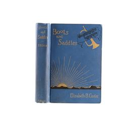 1913 Boots and Saddles by Elizabeth B. Custer