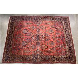 Large Persian Tabriz Fine Hand Woven Wool Rug