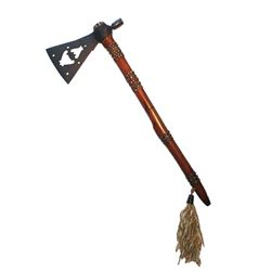 Double Batwing Pipe Tomahawk circa 19th Century.