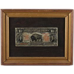 Buffalo Bill Lewis & Clark $10 Dollar Bill
