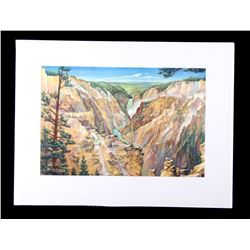Carl Tolpo Yellowstone Park c. 1955 Litho's (25)