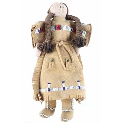 1950's Crow Indian Beaded Doll
