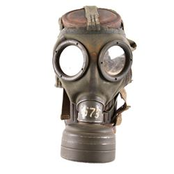 WWII German Gas Mask & Issue Canister