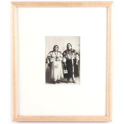Nez Perce 1890-1900 Photo by Burns Photo Co. Idaho