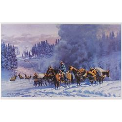 Limited Ed Old Yellowstone Days by Gary Carter