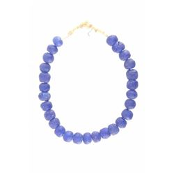 African Vaseline Trade Bead Necklace