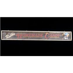 Ruth's Homemade Candy Wooden Trade Sign
