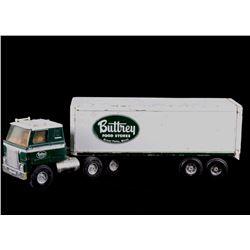 ERTL Buttrey Foods Tractor-Trailer Advertising Toy