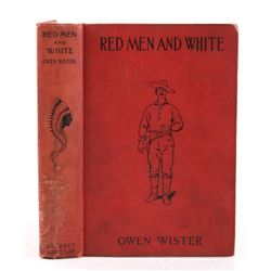 Red Men And White By Owen Wister c. 1895