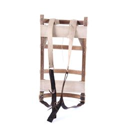 Early 1900's The Porter Wooden Back Pack Rack