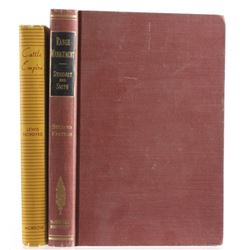 Range Management 2nd Ed & Cattle Empire c.1949