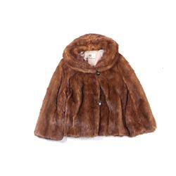 Hudson Bay Company Beaver Fur Ladies Coat