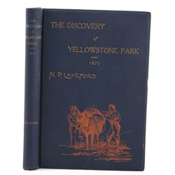 The Discovery of Yellowstone Park By Langford