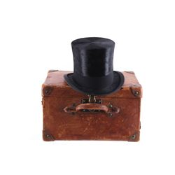 Dunlap & Co. Extra Quality Top Hat & Travel Case
