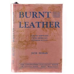 Burnt Leather by Jack Horan Published in 1937