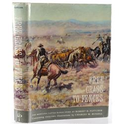 First Ed. Free Grass to Fences by Robert Fletcher