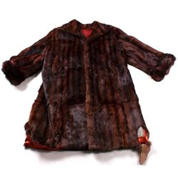 Mink Fur Winter Coat