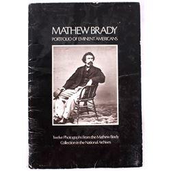 Mathew Brady Portfolio of Eminent Americans