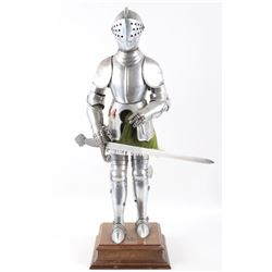 Full Set of Decorative Medieval Plate Armor Statue