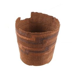 Northern Plains Indian Hand Woven Basket