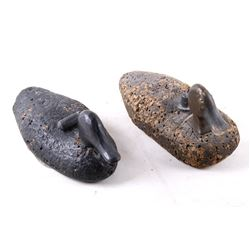 Black Duck & Mallard Hen Cork Decoys